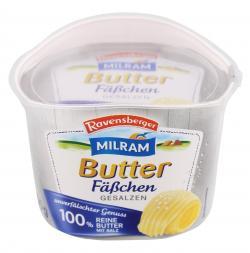 Ravensberger Butter-Fäßchen gesalzen  (250 g) - 4008435113100