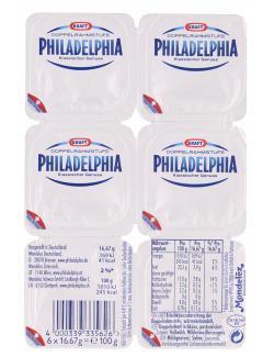 Philadelphia Klassisch Doppelrahmstufe  (100 g) - 4000339335626