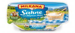 Milkana Schmelzkäse Sahne  (200 g) - 4000400009005