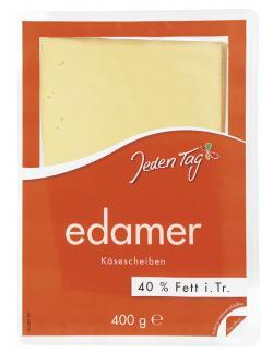 Jeden Tag Edamer Käsescheiben  (400 g) - 4306188724261