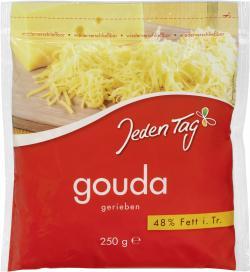 Jeden Tag Gouda gerieben  (250 g) - 4306188341406