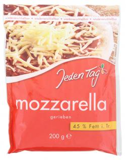 Jeden Tag Mozzarella gerieben  (200 g) - 4008432026328