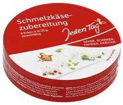 Jeden Tag Schmelzk�se 4 Sorten  (8 x 31,25 g) - 4306188724025