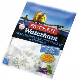 R�cker Waterkant Hirtenk�se naturmild  (200 g) - 4008960008889