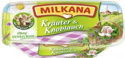 Milkana Schmelzkäse Kräuter & Knoblauch  (200 g) - 4045357003096