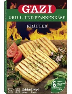 Gazi Grill- und Pfannenk�se mediterrane Kr�uter  (200 g) - 4002566010703
