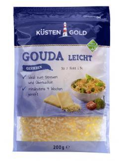 K�stengold Gouda light gerieben  (200 g) - 4006789510170