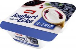 M�ller Joghurt mit der Ecke Schlemmer Heidelbeere & cremiger Joghurt  (150 g) - 40255163