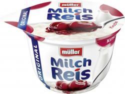 M�ller Milchreis Original Kirsche  (200 g) - 4025500021177