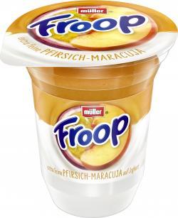 M�ller Froop Frucht auf Joghurt Pfirsich-Maracuja  (150 g) - 40255514