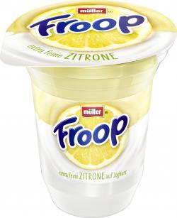 M�ller Froop Frucht auf Joghurt Zitrone  (150 g) - 40255521