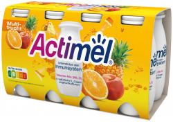 Danone Actimel Multifrucht  (8 x 100 g) - 4009700016751