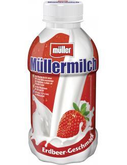 Müllermilch Erdbeere  (400 ml) - 42114338