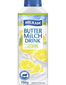 Milram Buttermilch Drink Zitrone  (750 g) - 4036300059413