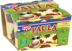 Dr. Oetker * Dr. Oetker Paula Pudding Vanillegeschmack mit Schoko-Flecken 512942