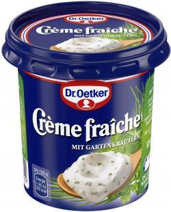 Dr. Oetker Cr�me fra�che mit frischen Kr�utern  (125 g) - 4000521579302