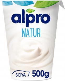 Alpro Soja-Joghurt Natur  (500 g) - 5411188080213