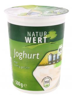 NaturWert Bio Naturjoghurt 3,8%  (500 g) - 4008471005254