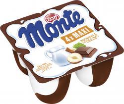 Zott Monte Maxi Milch-Dessert + Schoko  (4 x 100 g) - 4014500036830