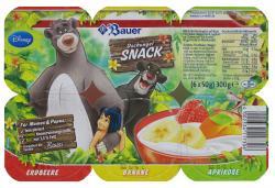 Bauer Dschungel Snack Erdbeere-Banane-Aprikose  (6 x 50 g) - 4002334117306