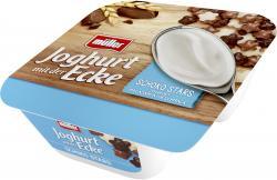 Müller Joghurt mit der Ecke Knusper Schoko Stars & Joghurt Macadamia  (150 g) - 40858388