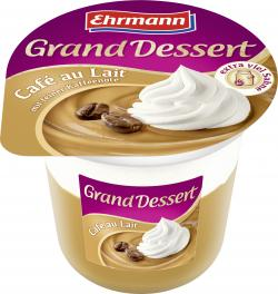 Ehrmann Grand Dessert Café au lait  (200 g) - 4002971234909