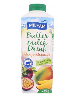 Milram Buttermilch Drink Mango-Maracuja  (750 g) - 4036300068279