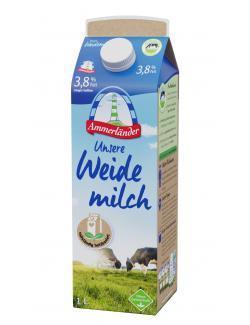 Ammerländer Unsere Milch 3,8%  (1 l) - 4000436110904