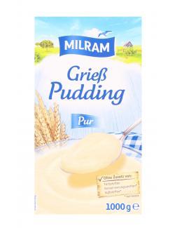 Milram Grie�pudding Pur  (1 kg) - 4008435072001