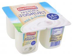 Ehrmann Frischer Joghurt mild & cremig 3,8%  (4 x 125 g) - 4002971000450