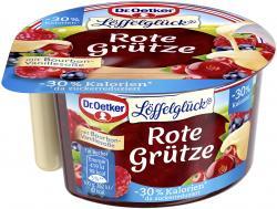 Dr. Oetker Rote Grütze mit Vanillesauce kalorienreduziert  (160 g) - 4000521586409