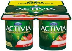 Danone Activia Erdbeere  (6 x 120 g) - 4009700028150