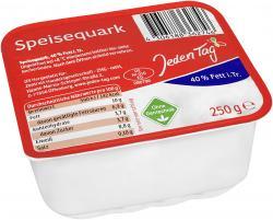 Jeden Tag Speisequark 40% Fett i.Tr.  (250 g) - 4306188724674