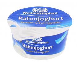 Weihenstephan Unser Cremigster Rahmjoghurt mit Traubenzucker  (150 g) - 4008452010338