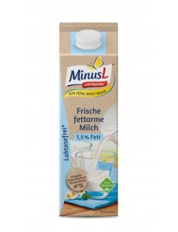Minus L Frische Milch 1,5%  (1 l) - 4062800008651