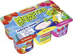 Ehrmann Monster Backe Früchte Quark  (6 x 50 g) - 4002971018011