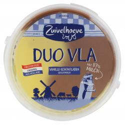 Zuivelhoeve Duo Vla Vanille-Schokolade  (800 g) - 8711399011530