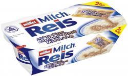 Müller Milchreis mit Zucker-Zimt-Mischung  (2 x 207 g) - 4025500125813