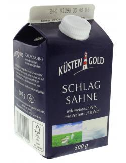 Küstengold Schlagsahne 33%  (500 ml) - 4250426210224