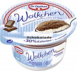 Dr. Oetker W�lkchen Schokolade zuckerreduziert  (125 g) - 40236728