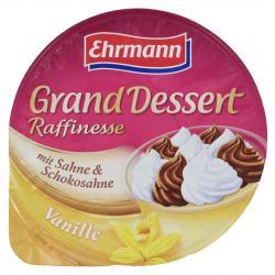 Ehrmann Grand Dessert Raffinesse Vanille mit Sahne & Schokosahne  (200 g) - 4002971250206