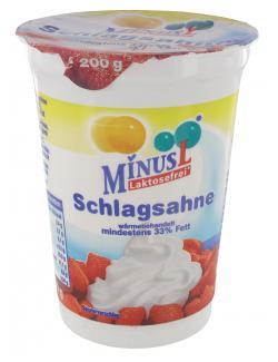 Minus L Schlagsahne 33%  (200 g) - 4062800008170
