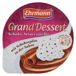 Ehrmann Grand Dessert Schoko-Stracciatella  (200 g) - 4002971250305