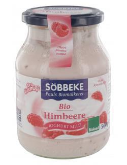 Söbbeke Der Cremige Bio Joghurt mild Himbeere  (500 g) - 4008471507925