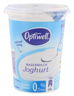 Optiwell Magermilchjoghurt mild 0,1%  (500 g) - 4040600081371