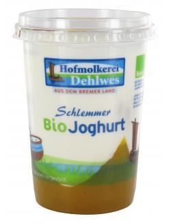 Hofmolkerei Dehlwes Schlemmer Bio Joghurt Mango-Vanille  (500 g) - 4002970000529