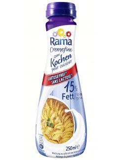 Rama Cremefine zum Kochen 15% laktosefrei  (250 ml) - 8712100728044