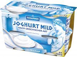 Bauer Seraphos Joghurt griechischer Art 5%  (4 x 100 g) - 4002334110802