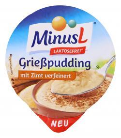Minus L Grie�pudding mit Zimt verfeinert  (125 g) - 4062800014638