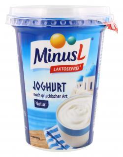 Minus L Joghurt natur nach griechischer Art  (400 g) - 4062800014829